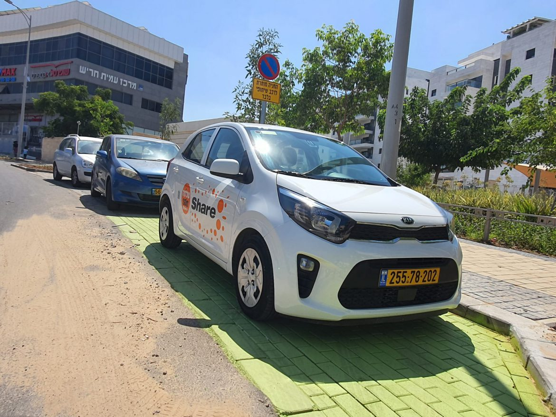 שיתופיים בחריש: רכב רביעי מצטרף למיזם הרכבים השיתופיים בעיר